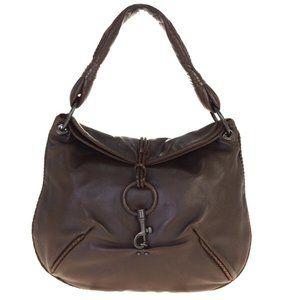 Bottega Veneta Intrecciato Leather Shoulder Bag B